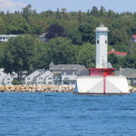 Round Island Passage Light, Lake Huron