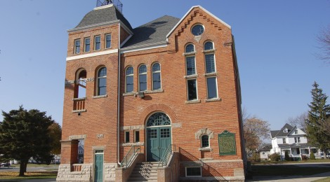 Michigan Roadside Attractions: Marine City Historic City Hall