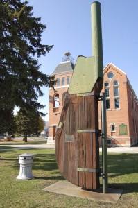 Marine City Historic City Hall Tug Rudder
