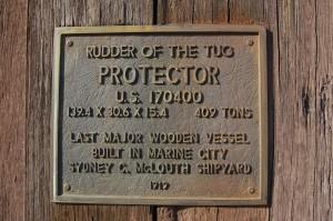 Marine City Tug Protector Plaque Michigan