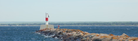 Marquette Breakwater Light, Lake Superior