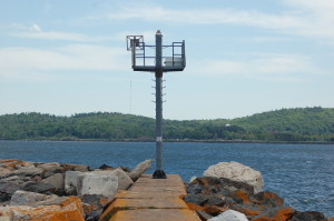 Marquette Breakwater Light Small Beacon Lake Superior