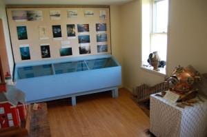 Marquette Harbor Lighthouse Exhibits Interior