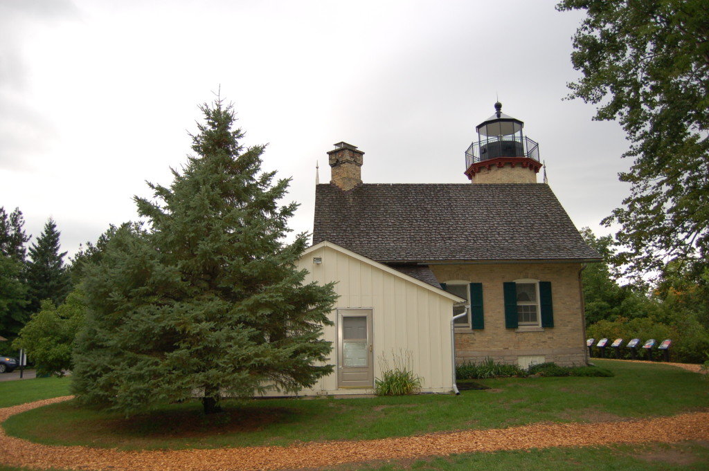 McGulpin Point Lighthouse Back Side View