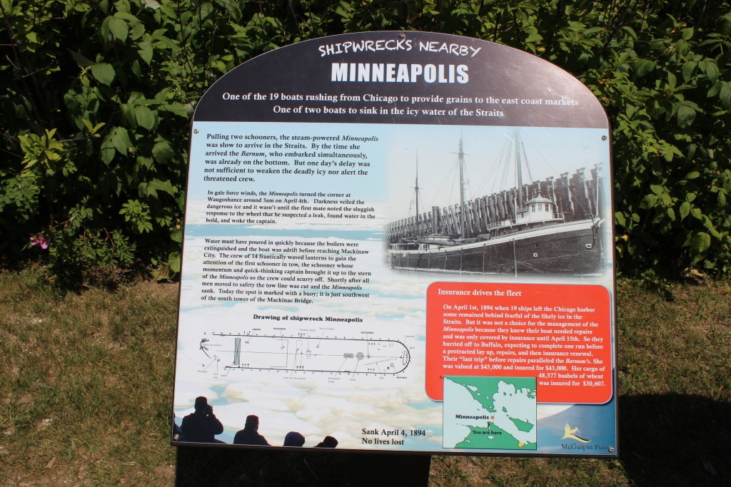 McGulpin Point Lighthouse Minneapolis Shipwreck