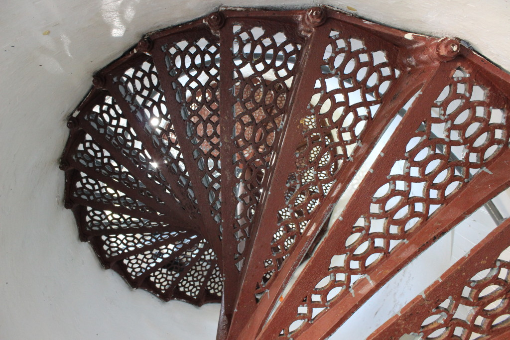 McGulpin Point Lighthouse Tower Stairs