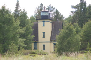 Mendota Bete Grise Lake Superior Michigan Lighthouse
