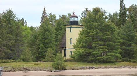 Mendota Lighthouse (Bete Grise), Lake Superior