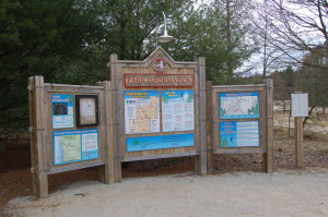 Pigeon Creek Park Information Sign Holland MI