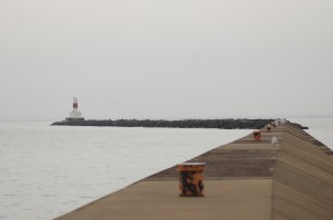 Presque Isle Harbor Breakwater Light Marquette MI