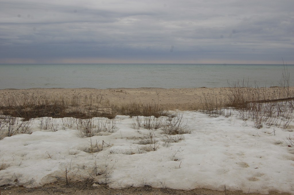 Sturgeon Point Lake Huron Spring Thaw