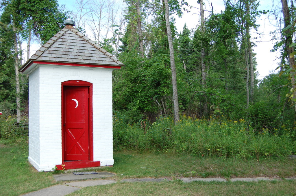 Sturgeon Point Lighthouse Brick Outhouse