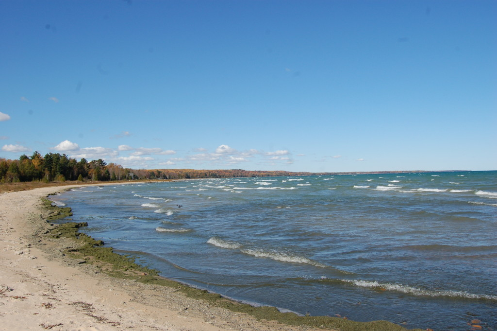 Sturgeon Point Lighthouse Lake Huron Shoreline
