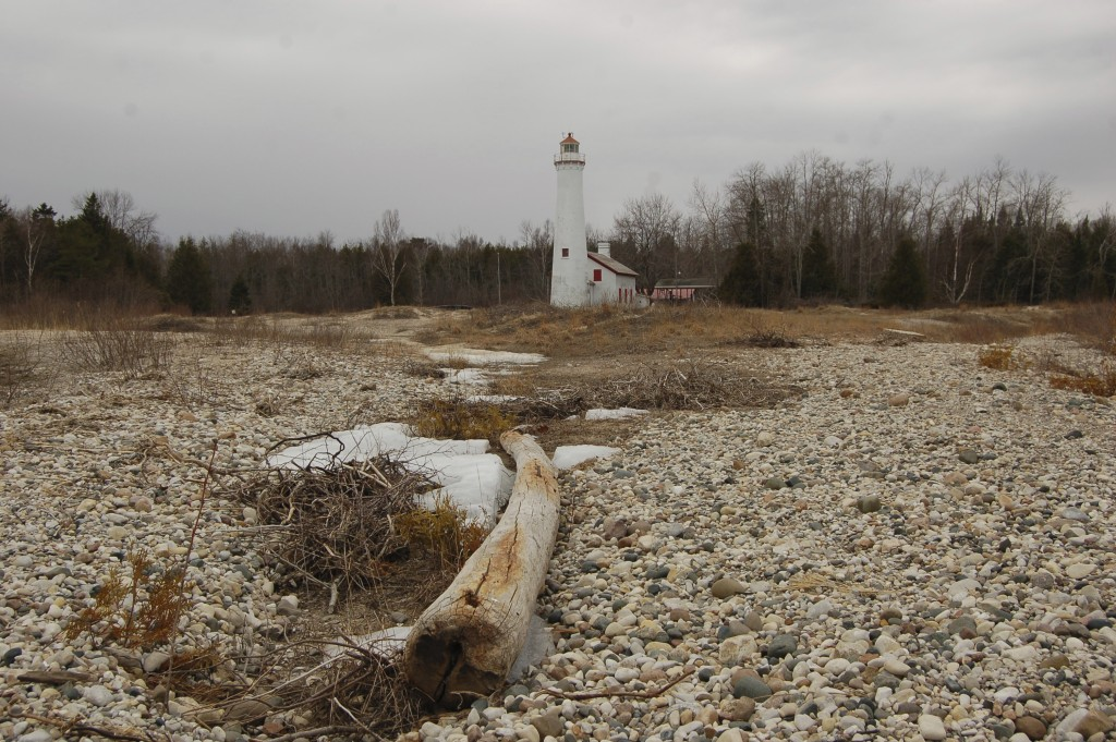Sturgeon Point Lighthouse Shoreline
