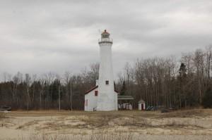 Sturgeon Point Lighthouse Spring