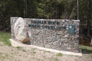 Thomas Rock Overlook Entrance Sign