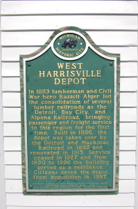 West Harrisville Lincoln Depot Michigan