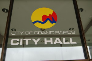 Grand Rapids City Hall Logo Calder Grand Vitesse