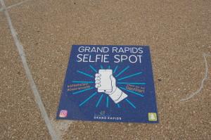 Grand Rapids Selfie Spot Calder Plaza La Grande Vitesse