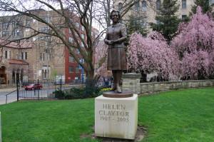 Helen Claytor Statue Grand Rapids Community Legends