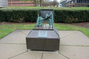 La Grand Vitesse Mini Sculpture Grand Rapids Calder