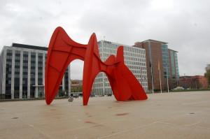 La Grande Vitesse Alexander Calder Grand Rapids