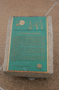 La Grande Vitesse Information Plaque Grand Rapids Calder