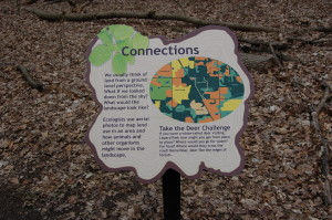 Lepard Nature Preserve Education Sign Connections Habitat