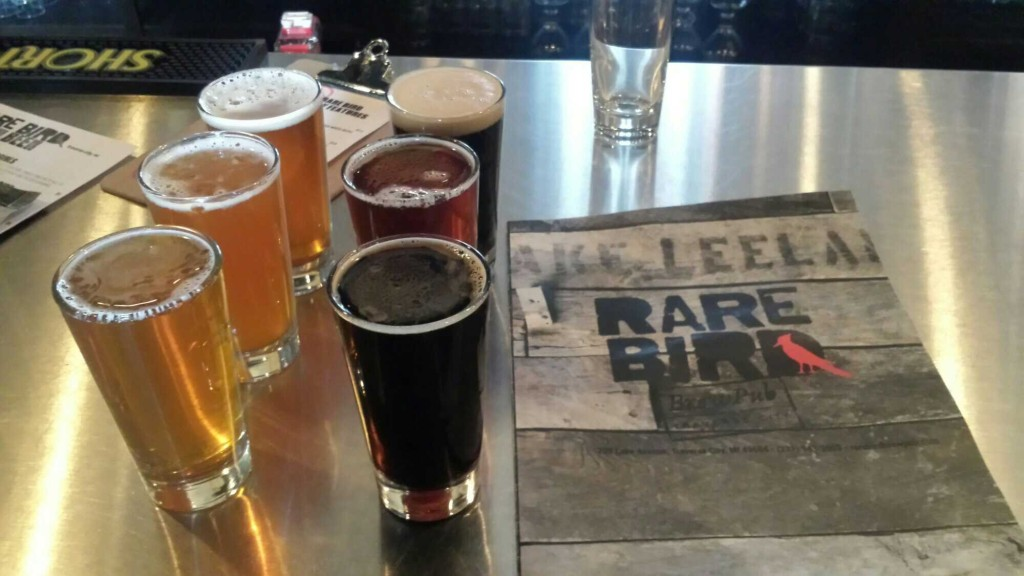 Rare Bird Brewpub in Traverse City
