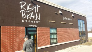 Right Brain Brewery Traverse City Michigan