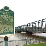 Michigan Roadside Attractions: Sixth Street Bridge, Grand Rapids