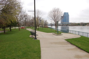 Sixth Street Park Grand Rapids Grand River