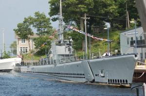 USS Silversides Submarine Muskegon Michigan