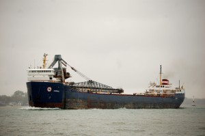 Algorail Freighter Detroit Windmill Point