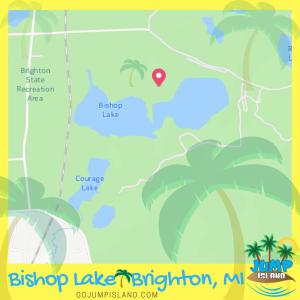 Bishop Lake Brighton Jump Island