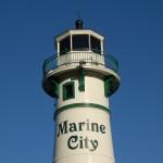 Peche Island Rear Range Light, Marine City