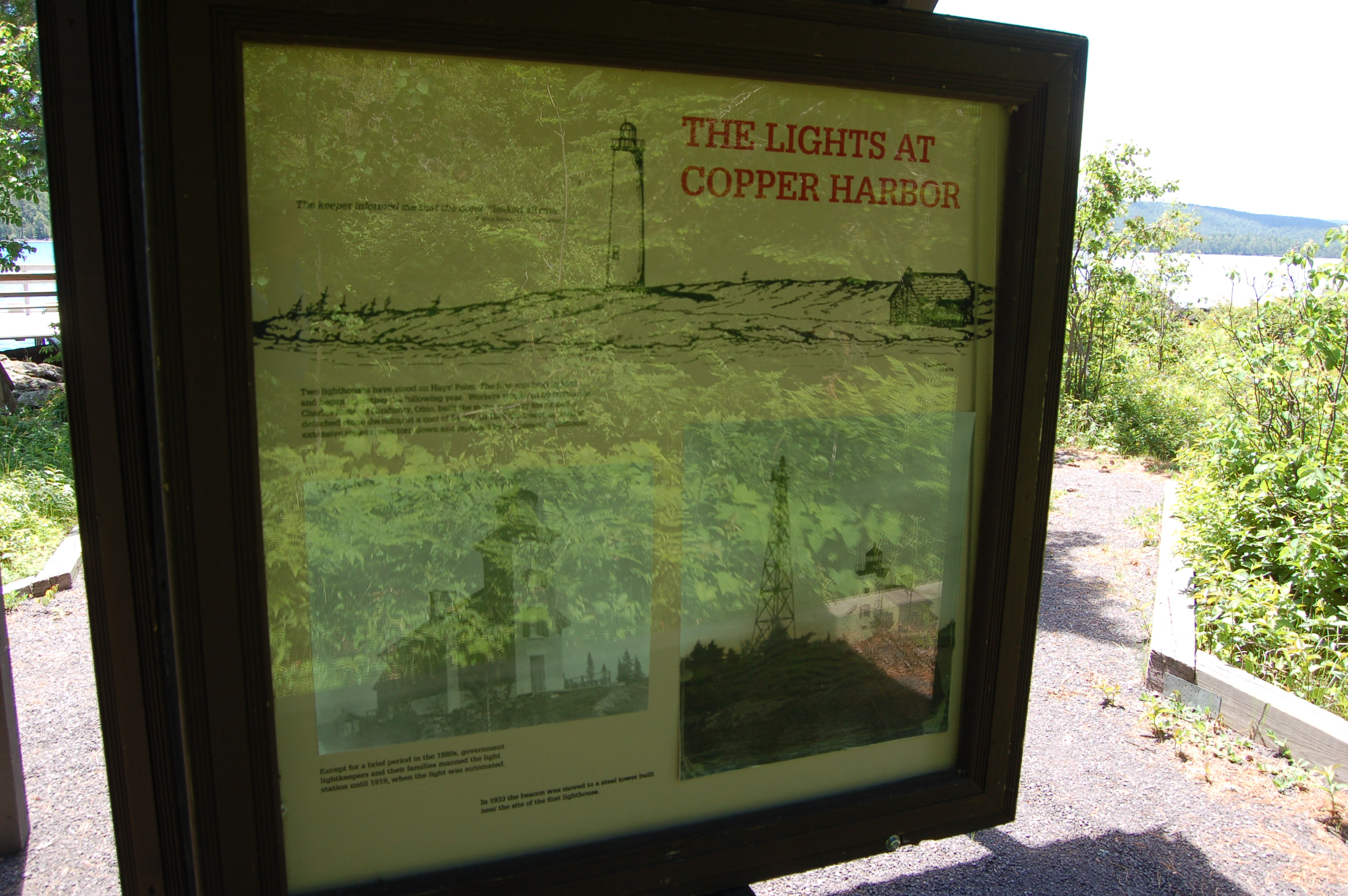 Copper Harbor Lighthouse History Fort Wilkins SP