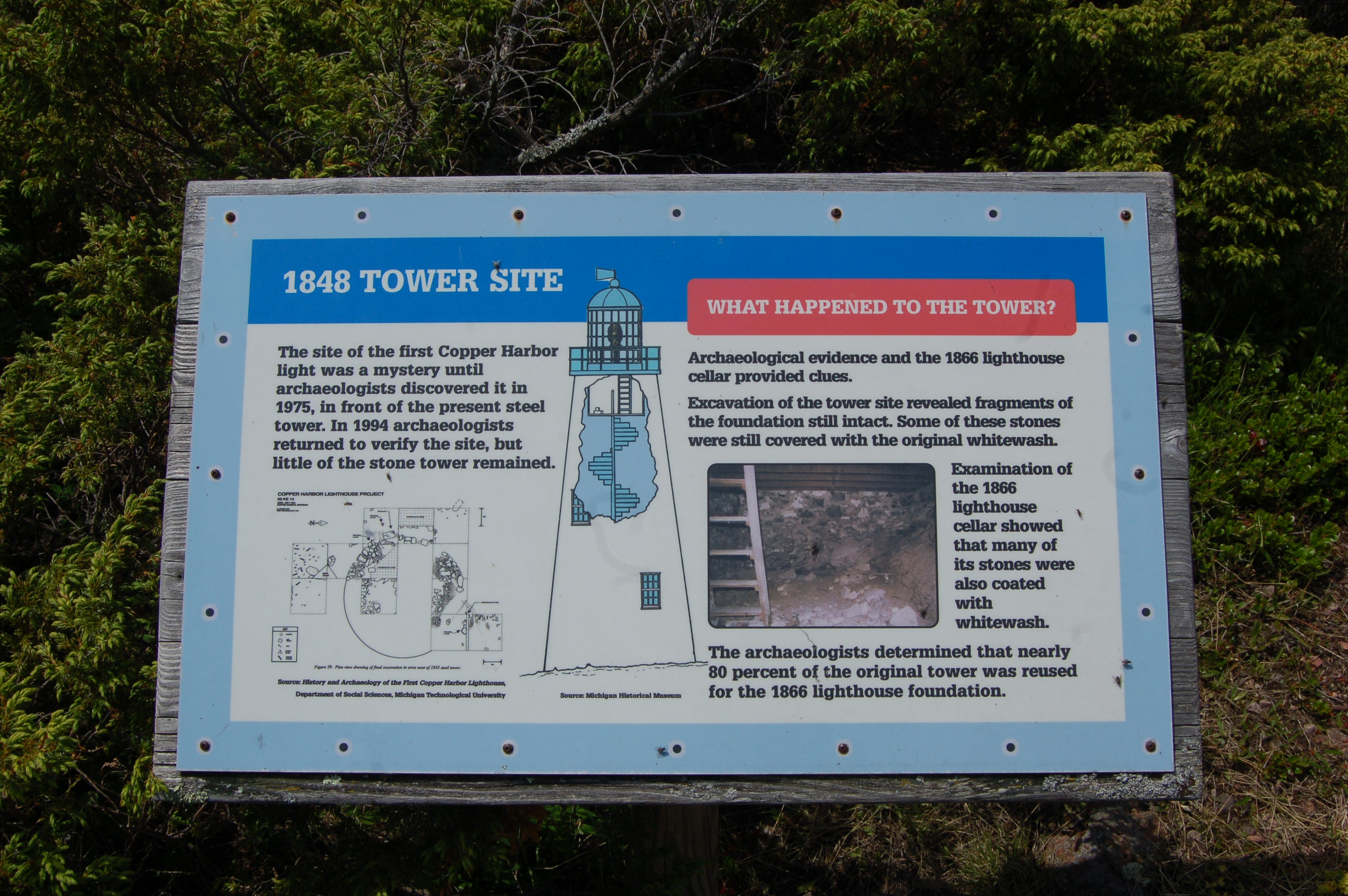 Copper Harbor Lighthouse History Info Fort Wilkins