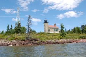 Copper Harbor Lighthouse Michigan Lake Superior