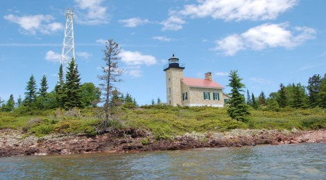 Copper Harbor Lighthouse, Lake Superior