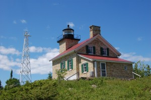 Copper Harbor Lighthouse Side View