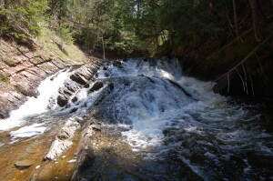 Slate River Falls Drops Upstream 2019