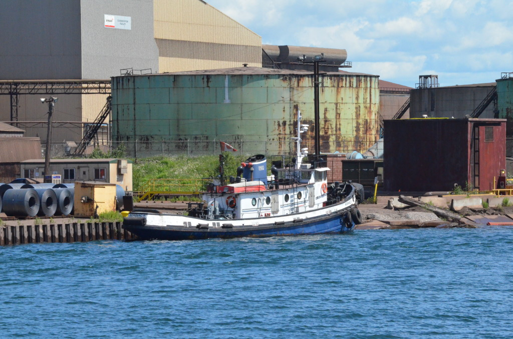 Soo Locks Boat Tours Adanac Tugboat Ontario