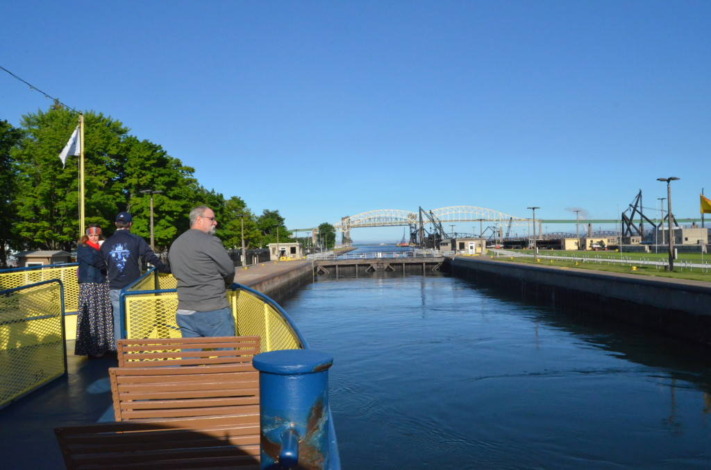 Soo Locks Boat Tours Deck View Locks
