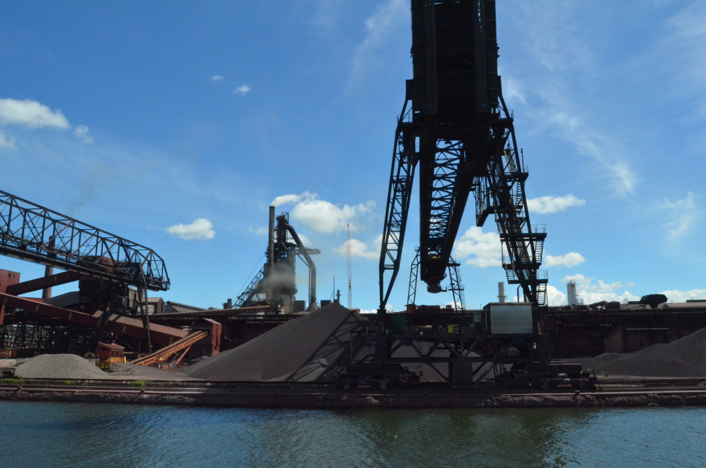 Soo Locks Boat Tours Essar Steel Ontario 3