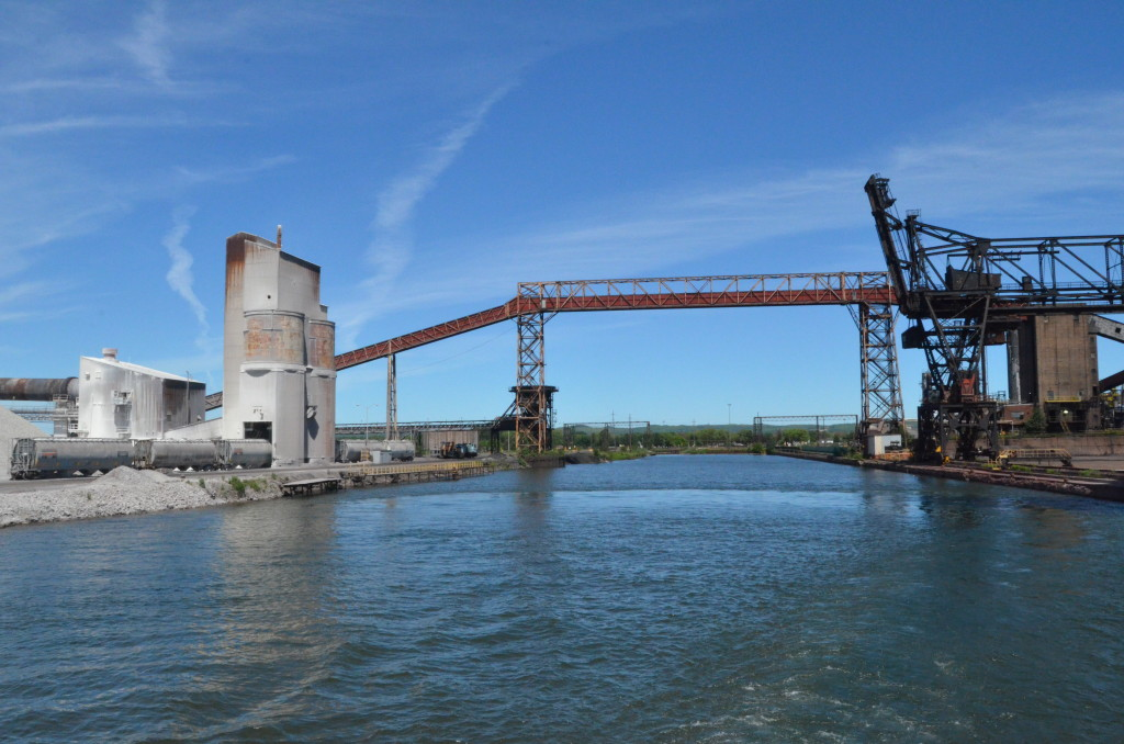 Soo Locks Boat Tours Essar Steel Ontario 4