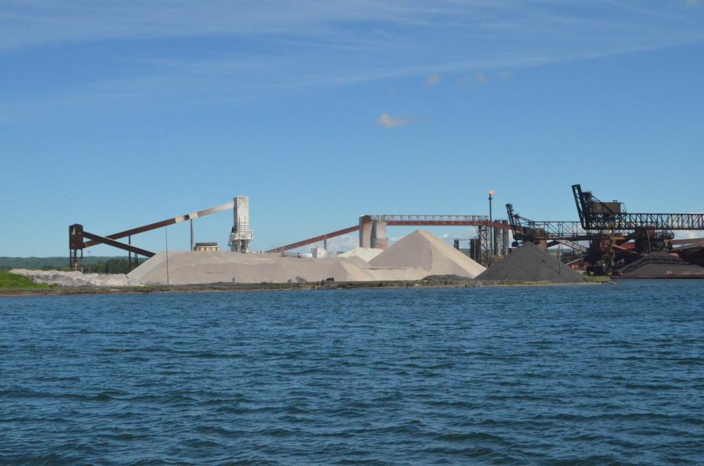 Soo Locks Boat Tours Essar Steel Sault Ste. Marie Ontario
