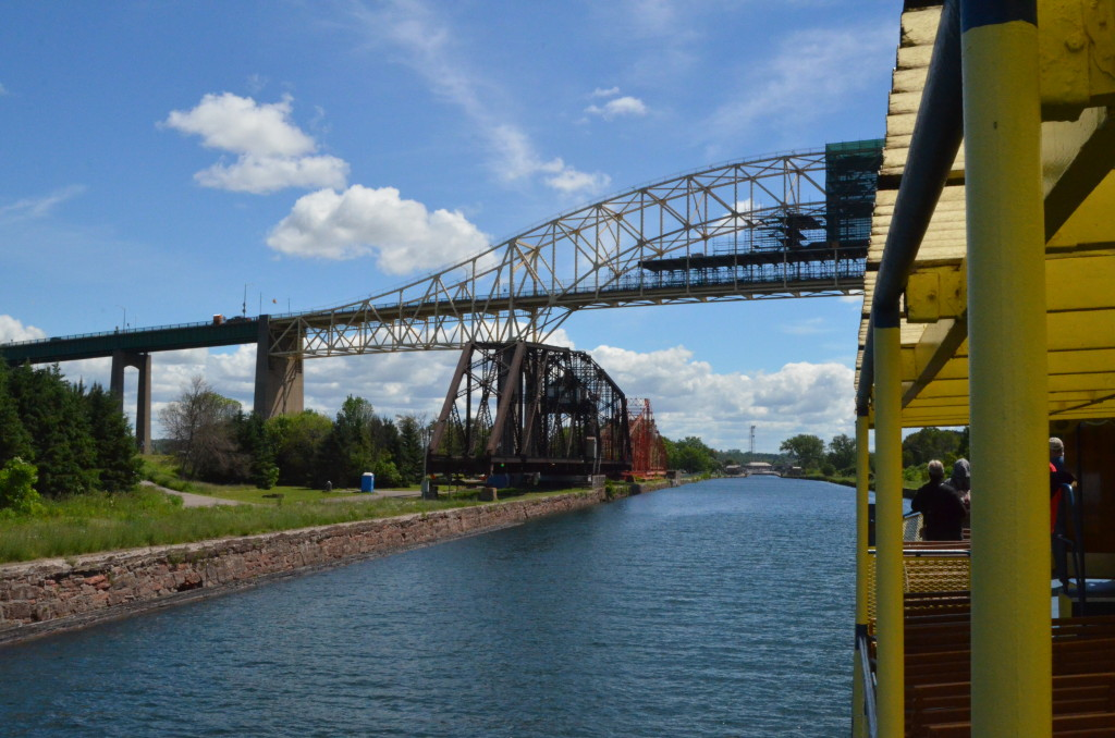 Soo Locks Boat Tours Intario Canada View