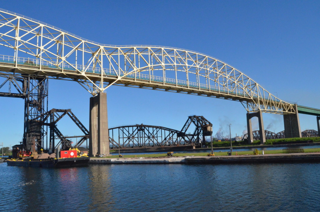 Soo Locks Boat Tours International Bridge