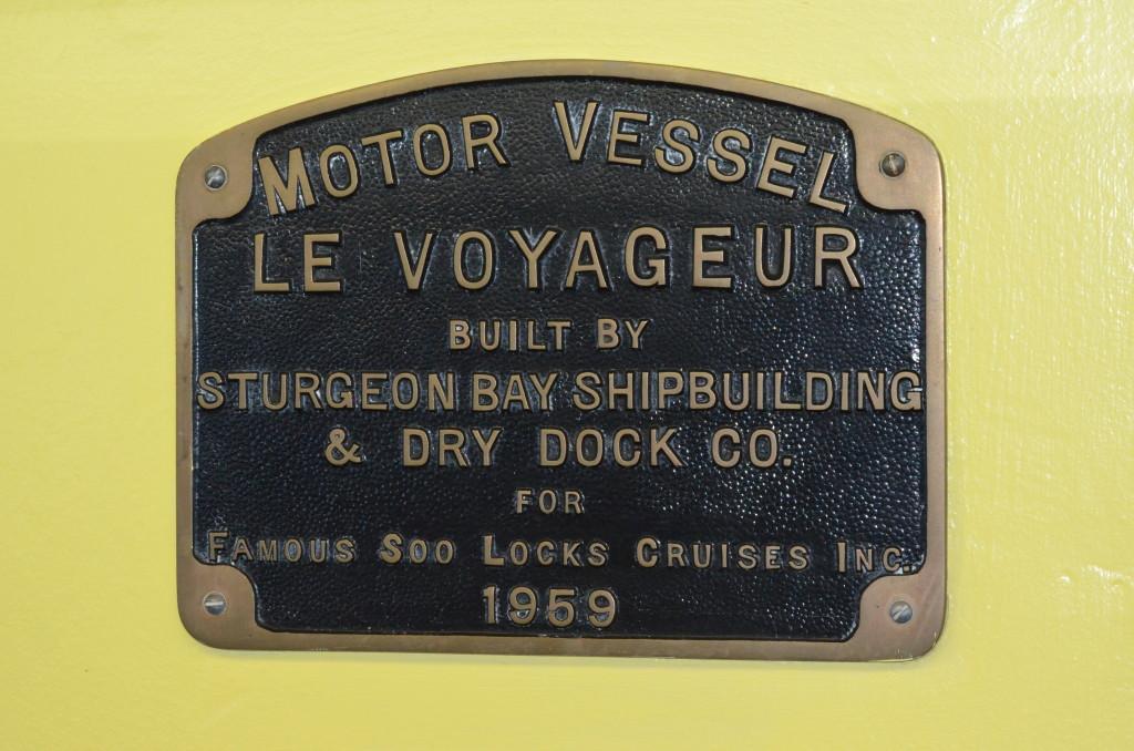 Soo Locks Boat Tours Le Voyageur Vessel Information
